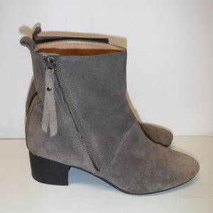 Banana Republic Lydia Taupe Suede Boots sz 8.5